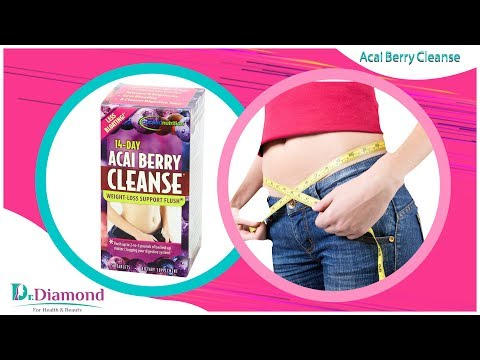 Acai Berry Cleanse مطهر توت الأساي